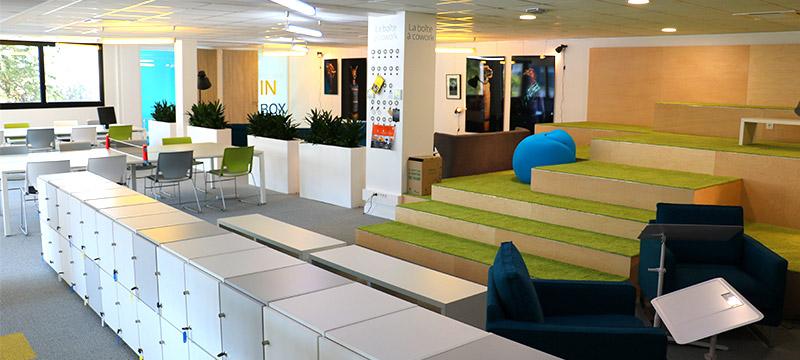 Espace de coworking nantes le144 for Espace de travail collaboratif