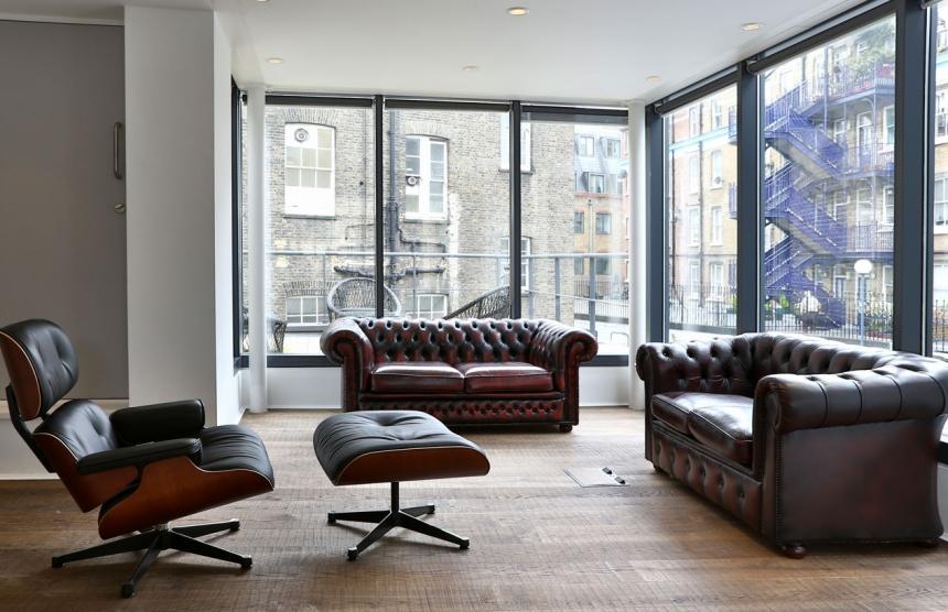 Espace de coworking à Londres