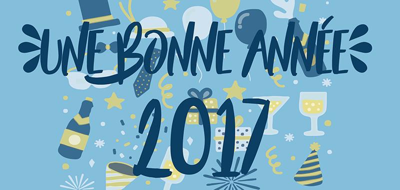 Une année 2017 pleine d'ambition et de réussite