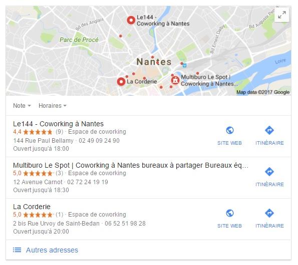 Les espaces de coworking visibles à Nantes