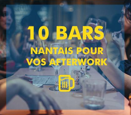 TOP 10 des bars Nantais pour vos afterworks