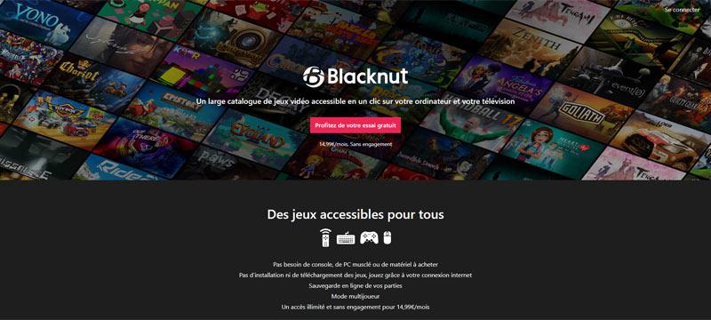 Blacknut : plateforme jeux norme