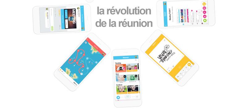 startup klaxoon reunion