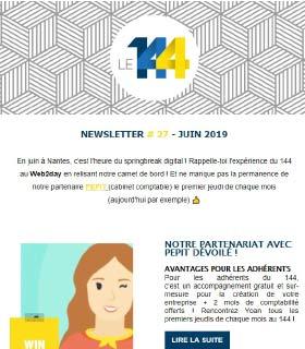 newsletter 144 coworking JUIN-19