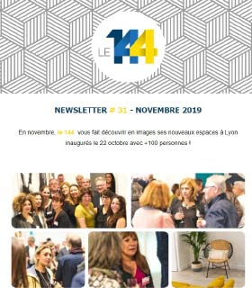 newsletter 144 coworking NOVEMBRE-19