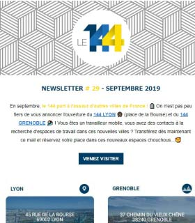 newsletter 144 coworking SEPTEMBRE-19