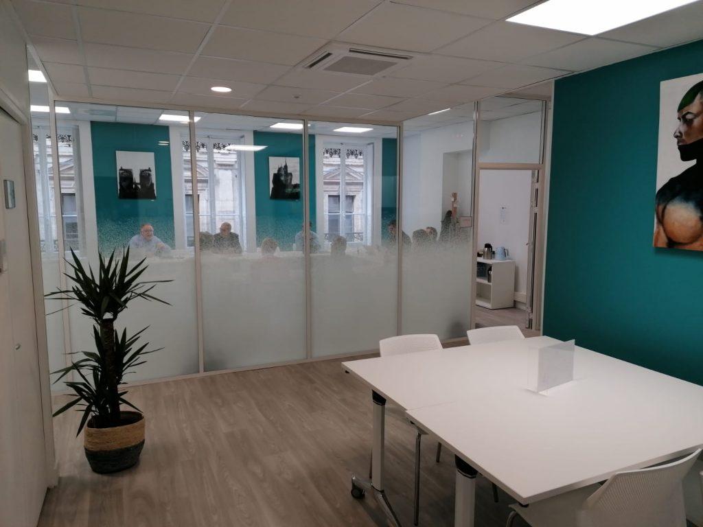 Espace de coworking à Lyon